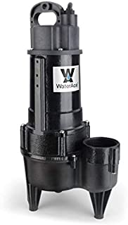 WaterAce WA50RSWM Sewage Pump, Black