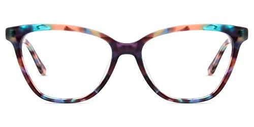 Firmoo Gafas Ordenador luz Azul Mujer Hombre, Gafas Gaming para Antifatiga Anti UV, Gafas protectoras Pantallas Electrónicas, DBSN62343 Patrón