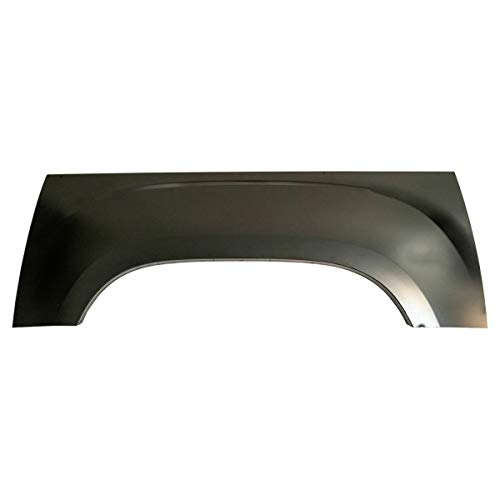 Pickup Truck Bed Wheel Arch Repair Panel Steel Driver Side LH Compatible with GMC Sierra New