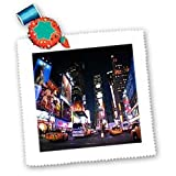 3dRose New York City Times Square Quilt Tabelle, 10von
