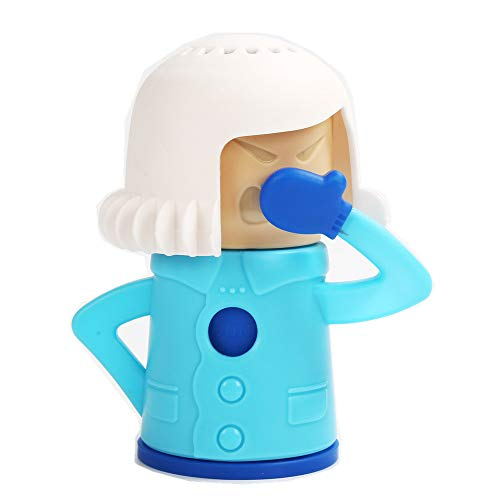 JYHY 1 Stück Mikrowellen-Reiniger, Angry Mama Fast Action Mikrowellen-Dampfreiniger Dampfreiniger Mikrowellen-Reinigungswerkzeug