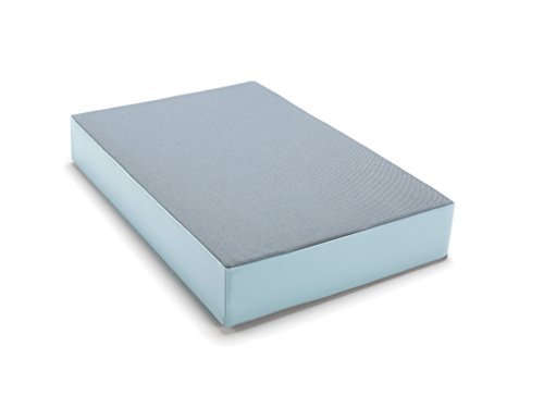 traturio Hüpfmatratze in tollen Farben für alle kleinen Hüpfer 107x70x17 cm stahlblau/eisblau