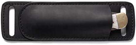 Gentlestache Leather Knife Sheaths for Belt Knife Holster Pocket Knife Sheath EDC Leather Sheath product image