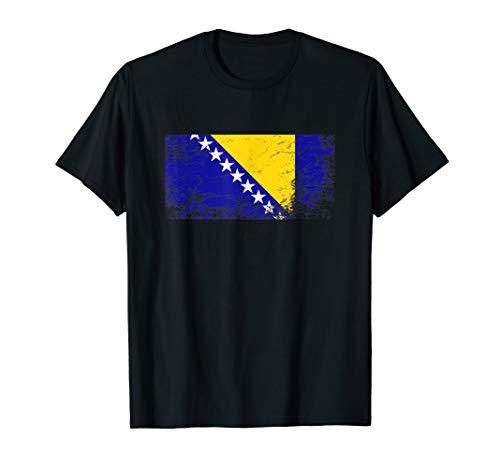 Bosnien Flagge tshirt für Männer Frauen und Kinder T-Shirt