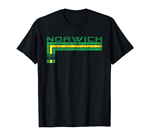 Football Is Everything - City Of Norwich 80s Retro Ultras T-Shirt