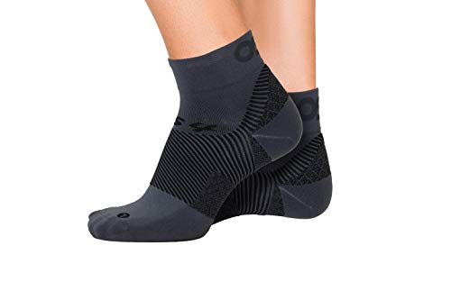 OrthoSleeve FS4 Orthotic Socks (Pair) for Plantar Fasciitis Relief, arch support and foot health...