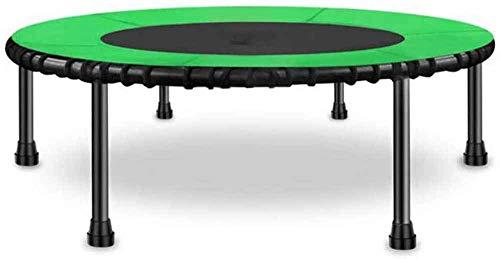 MXXQQ Reboteador de Ejercicio para el hogar, Mini colchoneta de Salto de trampolín Acolchado de Seguridad, Cubierta elástica con diseño de Gorila Redonda para Interiores y Exteriores