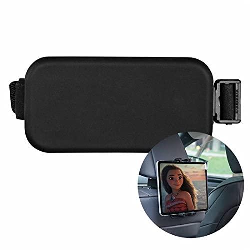 scosao Soporte Tablet para Coche Reposacabezas, Universal Silicona Soporte Tableta Apoyacabezas del Asiento Trasero del Automóvil, Rotación de 360 Grados, para Teléfonos y Tablets, 4-8,7 Pulgadas