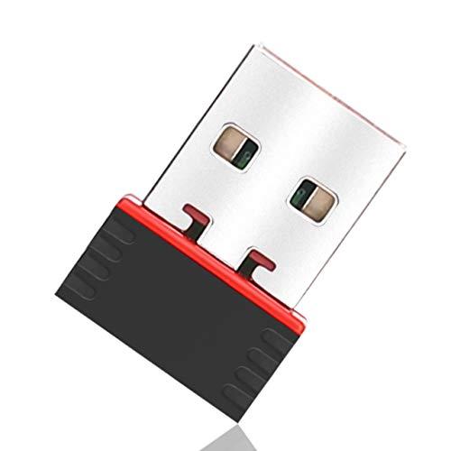 LIVL0V V5 ANT+ USB Stick Dongle for Wahoo, Garmin, Suunto, Zwift, TacX, Bkool, PerfPRO Studio, CycleOps, TrainerRoad to Upgrade Bike Trainer, Forerunner, Win7&10, MacBook, TacX Mini ANT+ Receiver