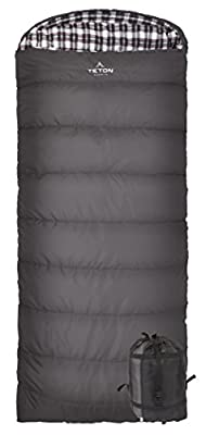 TETON Sports Fahrenheit Sleeping Bag; for Multi-Season Camping; Free Compression Sack