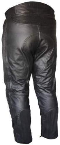 con protezione CE-Pantaloni in pelle LT1005 Razor-Pantaloni in pelle