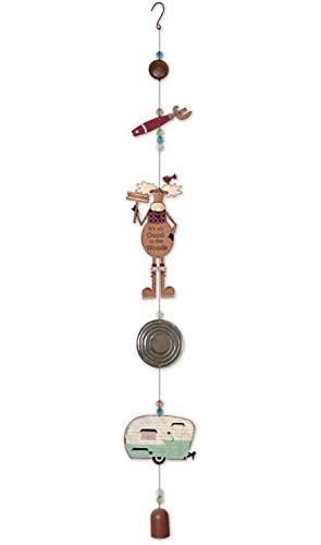 Puesta de Sol Vista Designs Moose decoración Colgante de Dangler