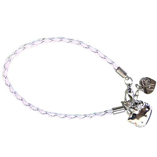 Hello Kitty Couture - VIA83008 - Bijou et Cosmétique - Bracelet Tressé - Blanc