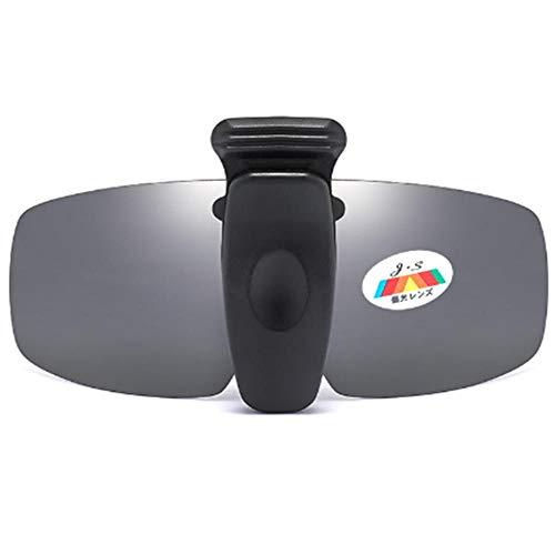 Mannen en vrouwen ultralicht rijden gepolariseerde zonnebril clip retro cap clip bijziendheid nieuwe zonnebril clip kan worden omgedraaid