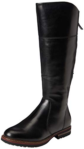 Tamaris Damen 1-1-26633-25 Kniehohe Stiefel, schwarz, 40 EU