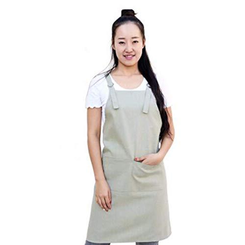 YLCJ Mooie mode Korea, keuken, café, restaurant, manic, mannen en vrouwen, werkkleding, kinderen A