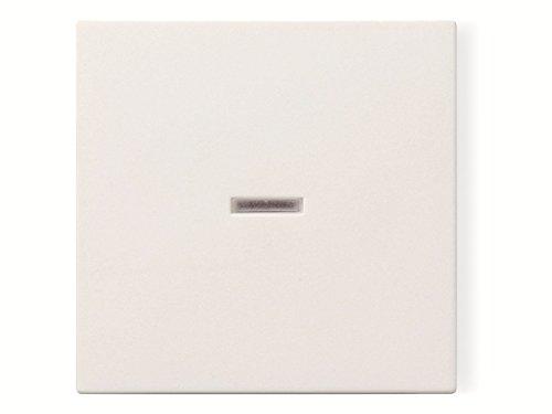 Gira Wippe 029003 Kontrollfenster System 55 rw, reinweiß, Kontroll-Wechsel