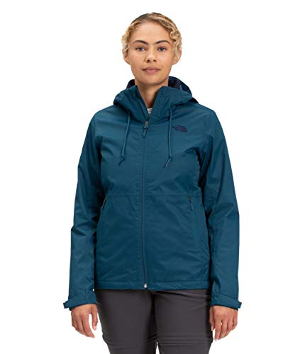 The North Face Women's Arrowood Triclimate Jacket, Monterey Blue/Aviator Navy, XS