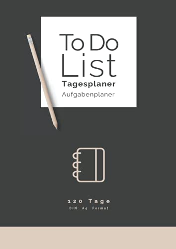 Tagesplaner | Aufgabenplaner | ToDo-Liste | Din A4: Struktur und Organisation im Alltag | Fokus auf die wesentlichen Aufgaben des Tages
