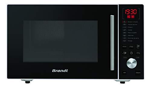 BRANDT – Micro-ondes en pose libre avec autoprogramme pour calcul automatique de la durée de cuisson - Cavité en Inox 26 L -...