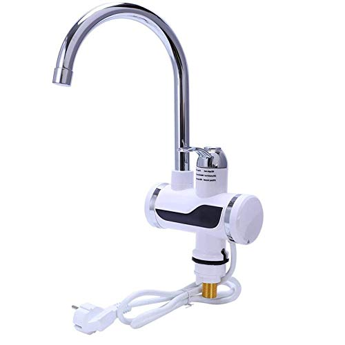 Calentador de agua eléctrico para cocina, grifo instantáneo, calentador de agua caliente, grifo de calefacción fría, calentador instantáneo de agua sin tanque