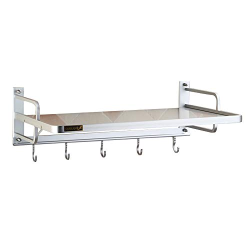 YUEDAI Space Aluminium Mikrowelle Rack Küche Mikrowelle Wandhalterung Backofen Rack Halterung Doppelgestell (Size : A)