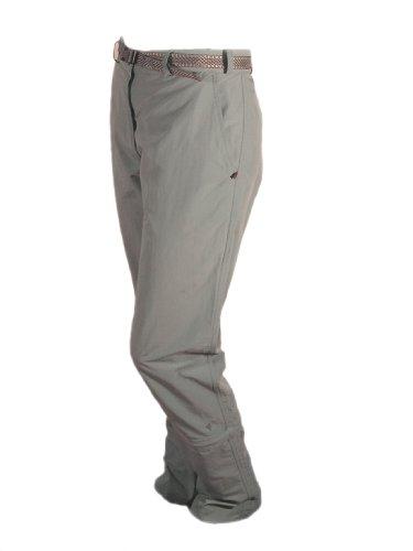 Keela Chilli Z/O - Pantaloni 3/4, Nero (Grigio), Size 14