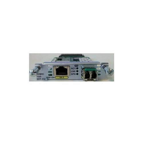 EHWIC-1GE-SFP-CU EHWIC 1 Port Dual Mode SFP(100M/1G) or GE(10M/100M/1G) RENEWED