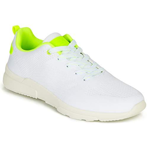 BULLBOXER NORA Sneakers meisjes Wit/Geel Lage sneakers