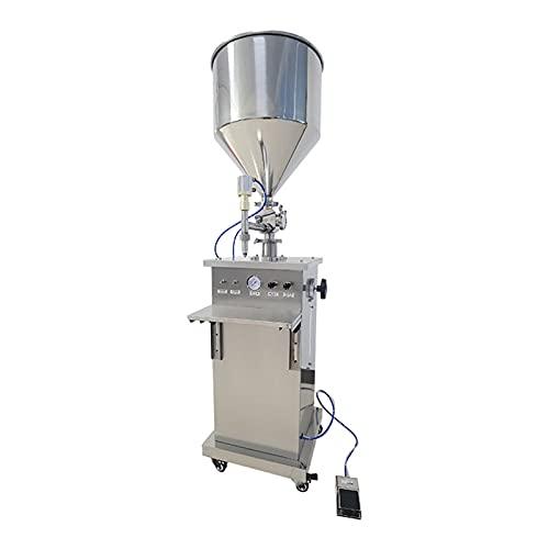 HXXXIN Máquina Dispensadora De Pasta Cuantitativa Automática, Líquido De Lavandería, Máquina De Llenado De Líquido Pequeño, Máquina De Llenado De Tolva De Válvula Rotativa Vertical,1000 ml