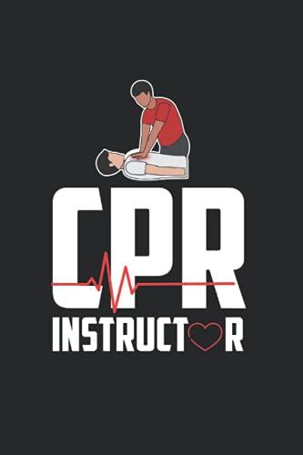 CPR: Zertifizierter CPR Ausbilder für Erste Hilfe Krankenwagen Notizbuch DIN A5 120 Seiten für Notizen Zeichnungen Formeln   Organizer Schreibheft Planer Tagebuch