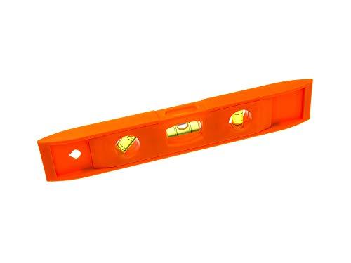 Silverline 987512ein/Single magnetisch Tasche Wasserwaage 230x 40mm, orange