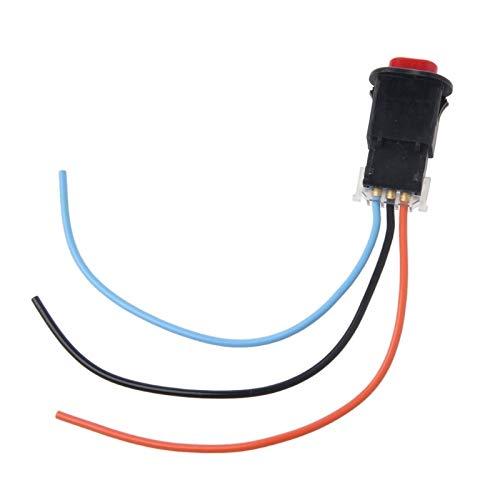 U/D LCZCZL Interruptor de la Motocicleta del Interruptor Ligero del Peligro botón del Flash del Doble de Advertencia de Emergencia Intermitente lámpara de señal