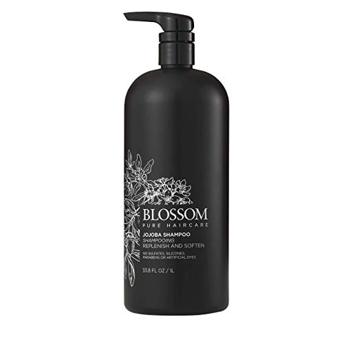 Jojoba Shampoo - Blossom - Replenish and Soften Hair Care, Sulfate-Free Shampoo (33.8 oz.)
