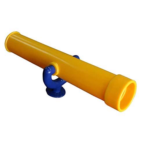 Kinder Fernrohr Teleskop Für Spieltürme,Kinder Teleskop Fernrohr Fernglas Aus Kunsstoff Outdoorspiele Kinder Ohne Optische Vergrößerungsfunktion