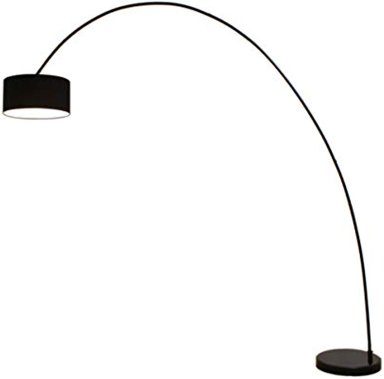 Bogenleuchte Elegant Arc schwarz, Ausladung 222cm, Hhe 225cm, 10454