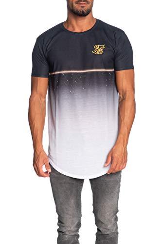 Sik Silk - SS-14925 - Camiseta Hombre Manga Corta (L)