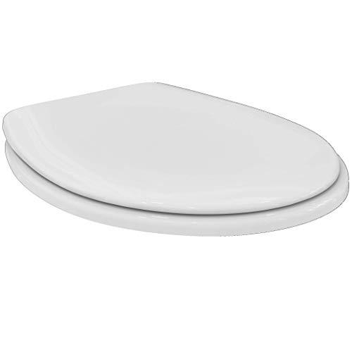 Ideal Standard K705301 Contour 21 WC-Sitz Eurovit K 705301 Scharniere aus Edelstahl, Weiß