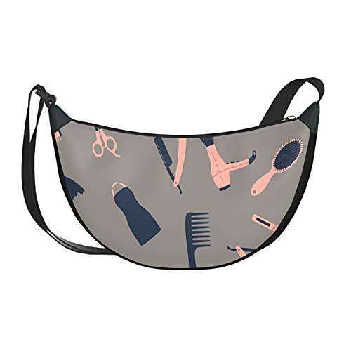 Umhängetasche Cartoon Nette Mode Mädchen Lockenwickler Kreuz Umhängetasche Für Frauen Umhängetaschen Mit Reißverschluss Für Frauen
