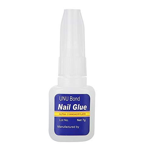 GAESHOW 7g Professional Nail Glue Professional Brush On DIY Polish Nail Stick Glue Nail Glue Nail Polish Glue