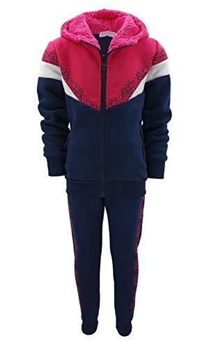 Girls Fashion MF288e - Conjunto de chándal para niña, chaqueta y pantalón...