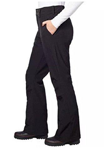 Gerry Womens Fleece Lined Water Resistant Snow Pants Black L
