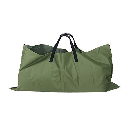 Bolsas para desechos de jardín, bolsas reutilizables para hojas, bolsas para desechos de jardín para accesorios de jardinería, 56,7 x 56,7 pulgadas