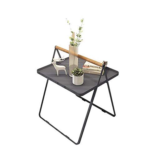 BJYG Iron Art Coffee Tray side Table Living Room Sofa Portable Coffee Table Workstation Bed Table