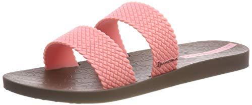 Ipanema Damen City FEM Pantoletten, Mehrfarbig (Brown/Pink 8452), 41/42 EU