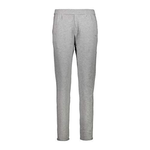 CMP Damskie spodnie ze streczu cotton, spodnie sportowe, szare melanż, D38