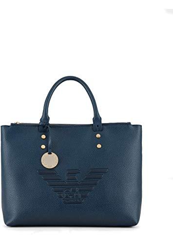 Emporio Armani Y3D143 - Bolso de mano de piel para mujer