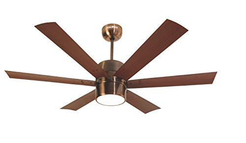 Halonix Hexa Antique 1200mm Ceiling Fan with Built-in 6...
