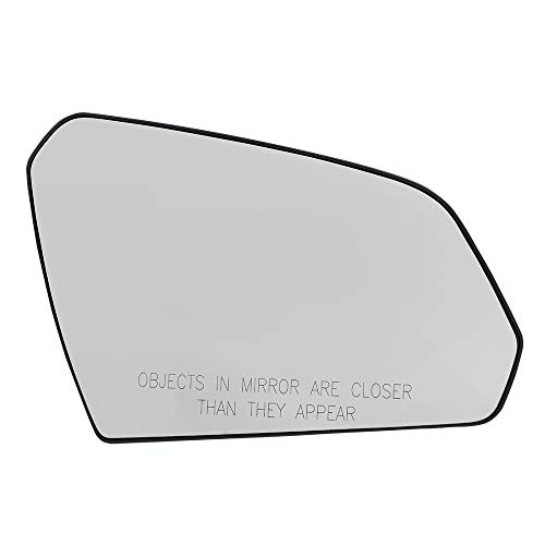 Brock Replacement Passenger Mirror Glass w/Base Heated compatible with 15-19 Sonata Illinois