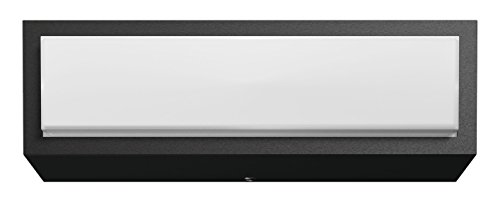 Philips 1735493P3 STRATOSPHERE Applique Aluminium/Matières Synthétiques Anthracite 20,3 x 6,8 x 6,3 cm